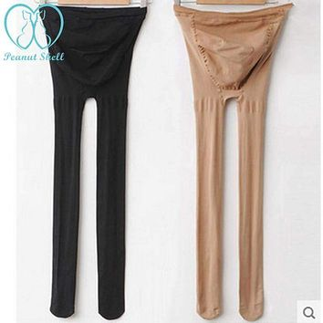 8219# Maternity Belly Legging Elastic Strap Adjust Stocking Autumn Tights Clothes for Pregnant Women Pregnancy Pantyhose