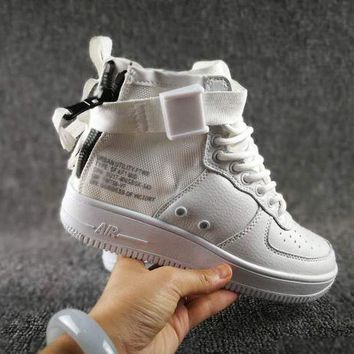 DCCKGV7 Originals Nike Special Field SF AF1 Mid Running Sport Casual Shoes 917753 White Sneakers