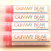 Delicious Gummy Bear Lip Balm - Zero Calorie Treat for Kids