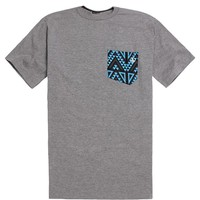 Volcom Trenton Basic Pocket T-Shirt - Mens Tee - Grey