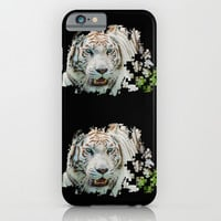 TIGER PUZZLE iPhone & iPod Case by Catspaws