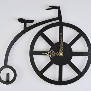 Antique Bicycle Wall Clock