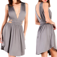 Mia Greek Cut-Out Dress