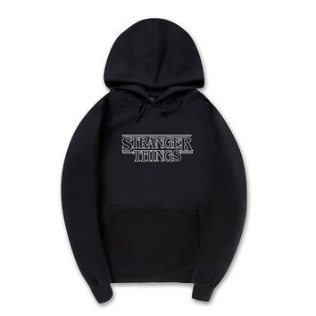 Stranger Things Black Hoodie