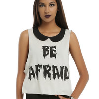 Iron Fist x Ash Costello Bat Royalty Be Afraid Girls Tank Top
