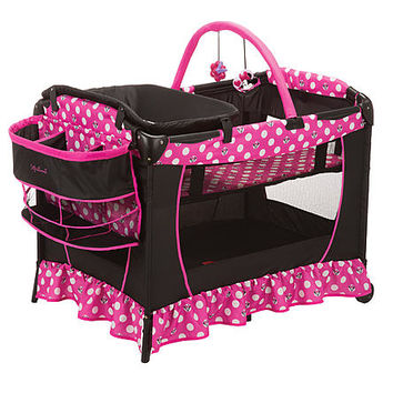Disney Baby Sweet Wonder Play Yard Minnie Dot - Baby - Baby Gear - Play Yards