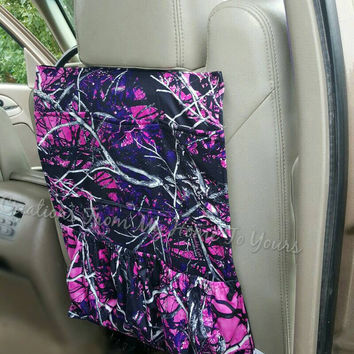 1 pink muddy girl camo car caddy