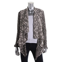 K&C Womens Boucle Open Front Cardigan Sweater