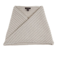Cashmere Ribbed Snood