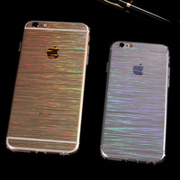 Colorful Laser Transparent Case for Iphone 5s 6s 6 plus