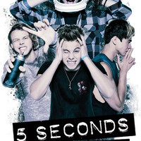 5SOS - Headache Music Poster 22x34 RP14395 UPC882663043958 5 Seconds Of Summer