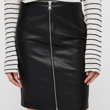 ALLSAINTS US: Womens Axel Skirt (black)