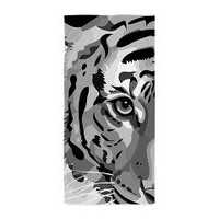 Black And White Tiger, Beach Towel> Beach Towels> Ornaart