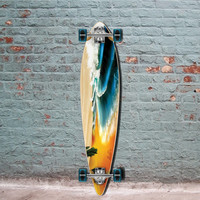 "Pintail Longboard Beach from Punked 40"" - Complete"