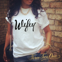 Wifey Relaxed Fit T-Shirt