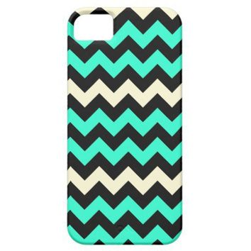 Vintage Chevron Hipster Indie iPhone 5 Case from Zazzle.com