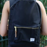 "Herschel - Settlement 15"" Laptop Backpack - Black"