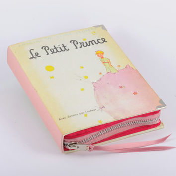 Le Petit Prince Book Clutch in Pink and Yellow