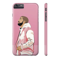 Drake Hotling Bling Pink OVO Jacket IPhone 4 5 6 6s Plus Galaxy s5 s6 Phone Case Weeknd Views Drizzy - Case15