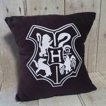 Hogwarts Crest Pillow (small) Harry Potter