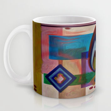 COLOR FIGHT Mug by Robleedesigns