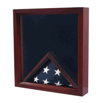 Air Force Flag,Medal Display Case,Flag Shadow Box Hand Made By Veterans