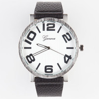 Geneva Clean Watch Black One Size For Men 23591310001