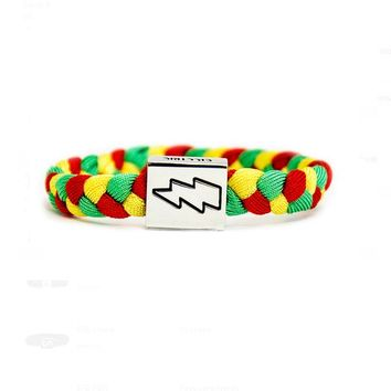 Electric Family - Rasta Bracelet