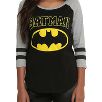 DC Comics Batman Girls Raglan