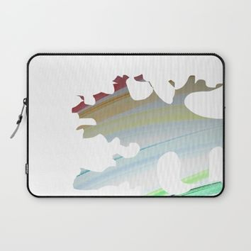 Broken Rainbow Laptop Sleeve by Jveart