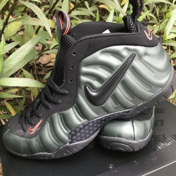 Air Foamposite Pro Army Green Size 40-47