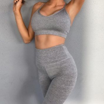 Hot new women's fashion casual slim yoga vest suit women