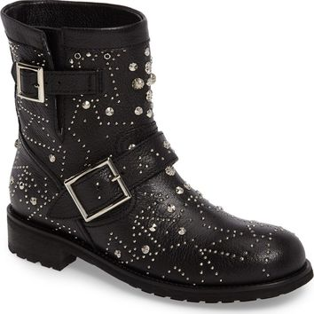 Jimmy Choo Youth Combat Boot (Women) | Nordstrom
