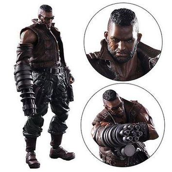 Square Enix Final Fantasy VII Remake Barret Wallace Play Arts Kai Action Figure
