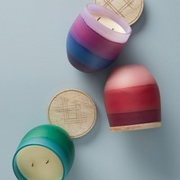 Dip-Dyed Candle