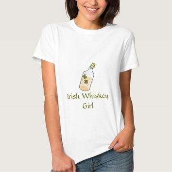 Irish Whiskey Girl St Patrick's Day T-Shirt