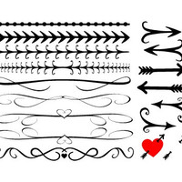 DIY wedding invites, Line boarders, Elegant lines, Fancy boarders, Scrolled lines, scroll boarder Arrows, Boarder art, download clipart