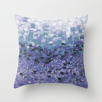 :: Purple Cow Compote :: Throw Pillow by :: GaleStorm Artworks ::