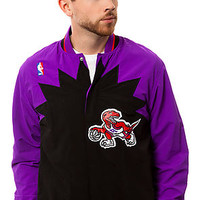 The Toronto Raptors Warm Up Jacket in Purple