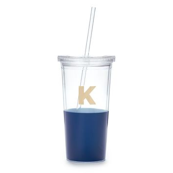 kate spade new york dipped initial insulated tumbler - K