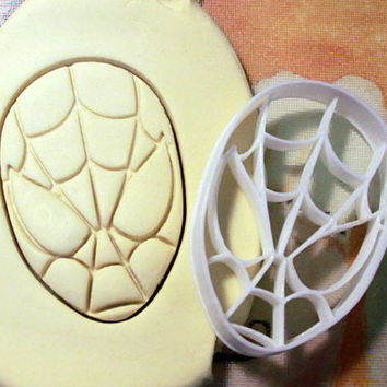 Spiderman Cookie Cutter - Made from Biodegradable Material
