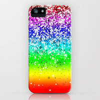Spark Variations II iPhone & iPod (+iPad, Laptop and Pillow) Case by Rain Carnival