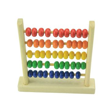 Mini Beads Abacus Wooden Educational Toys for Kids Children's Wooden Toys Baby Kids Boys Math Early Learning Toy