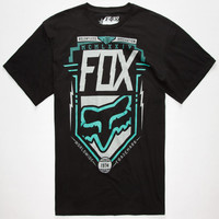 Fox Surplus Mens T-Shirt Black  In Sizes
