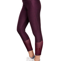 Ultimate High Waist Mesh Ankle Legging - PINK - Victoria's Secret
