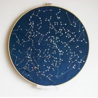 Constellations of the Northern Hemisphere by littlebrightstudio
