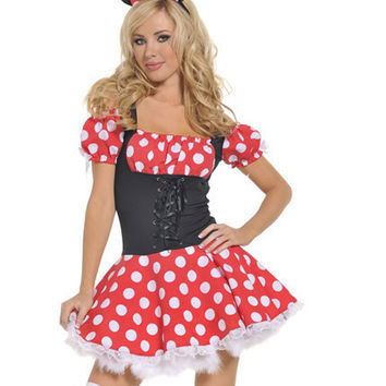 Adult Halloween Costumes for Women Minnie Costume for Women Cosplay Sexy Fantasy Women