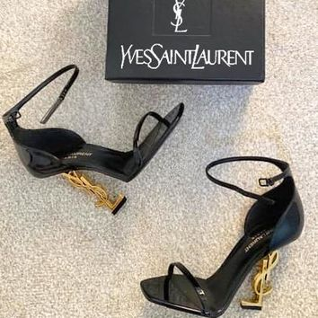 YSL Yves Saint Laurent sells sexy women high heels and sandals