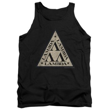 Revenge Of The Nerds - Tri Lambda Logo Adult Tank Top Officially Licensed Apparel