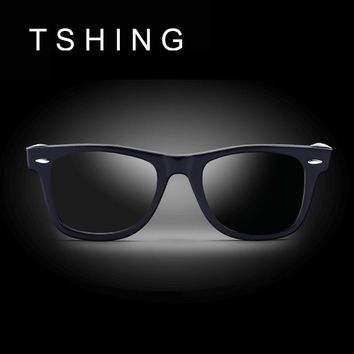 Men Polarized Sunglasses Classic Men Retro Rivet Shades Brand Designer Sun glasses UV400 For Male Driving Fishing Sunglasses